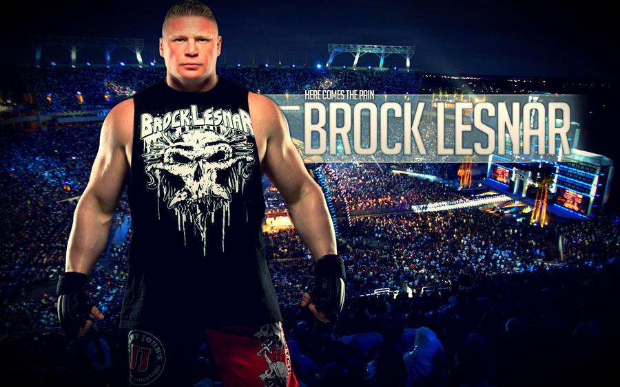 WWE Brock Lesnar By RatedRDesigns