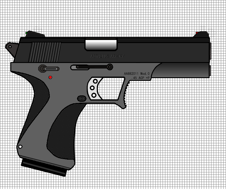 pistol concept by hallway ninja on deviantart. Black Bedroom Furniture Sets. Home Design Ideas