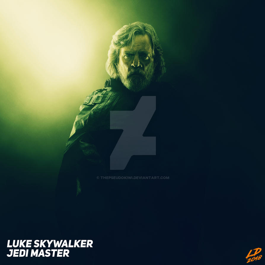 Luke Skywalker, Jedi Master #1 by thepseudokiwi