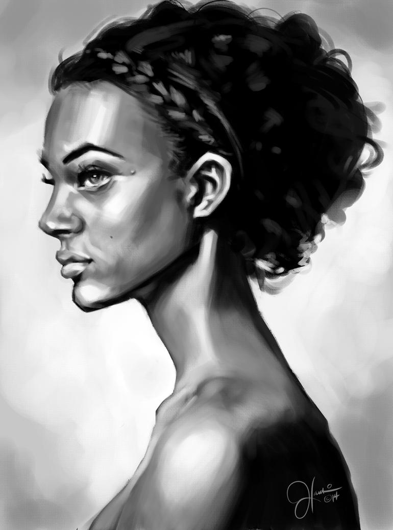 Profile Study by JonathanHankin