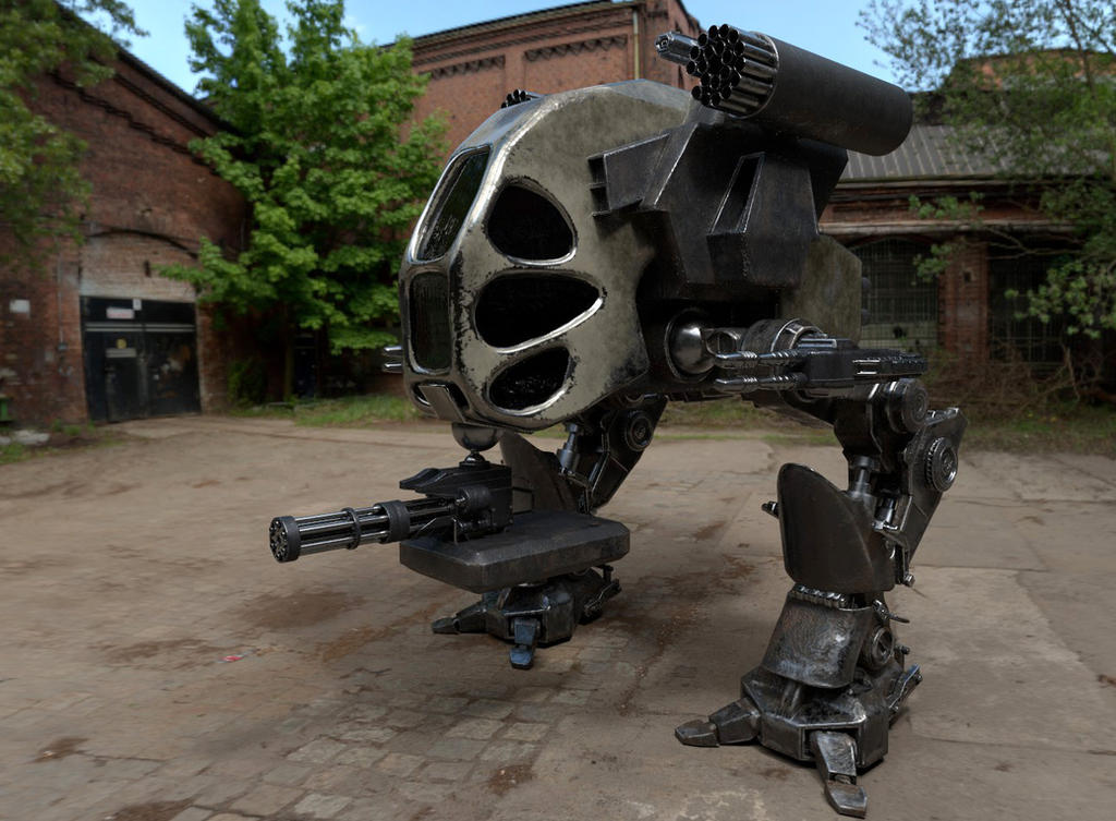 Mech Re-textured by shellcasing