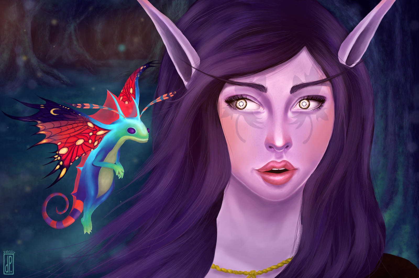Night Elf by Pupsie