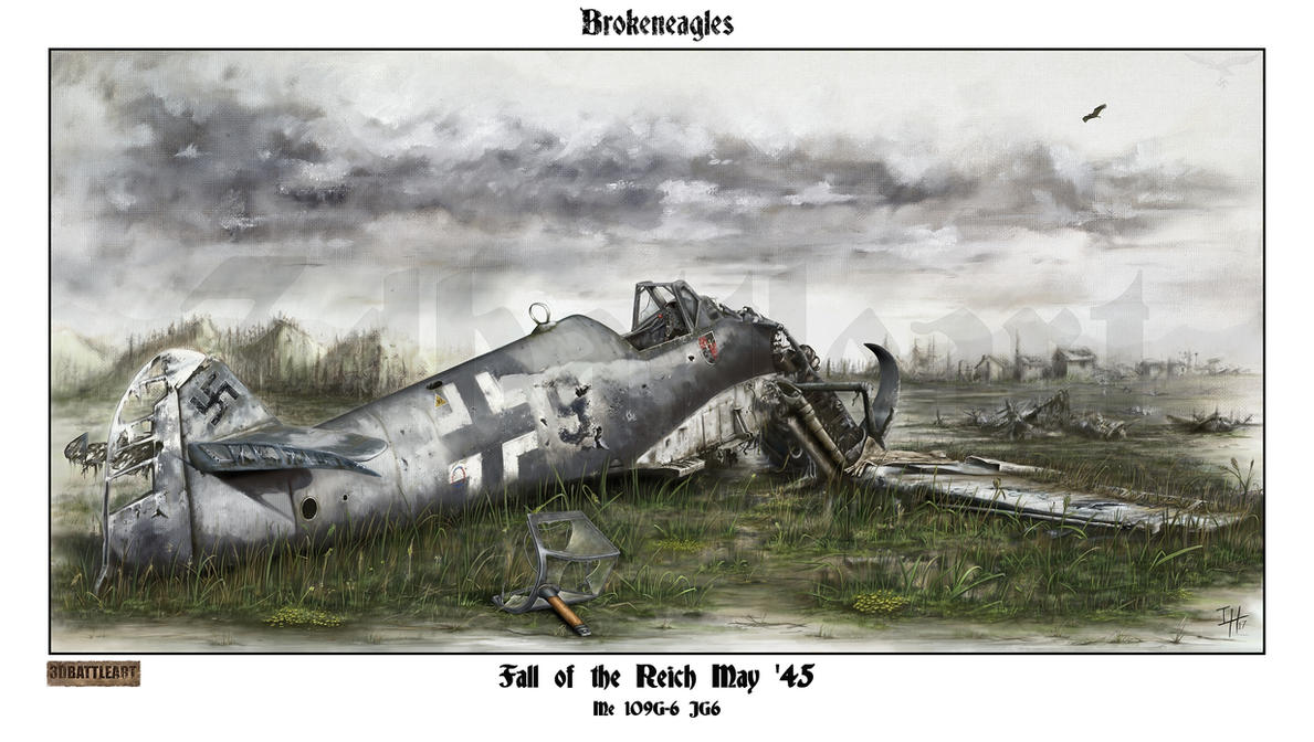 Fall of the Reich JG6 by Brokeneagle63