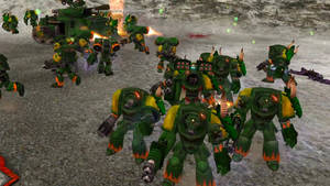Salamanders are awesome! - Warhammer 40K
