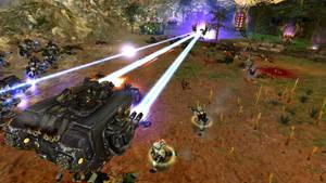 Space Marines vs Dark Eldar vs Orks! Warhammer 40K