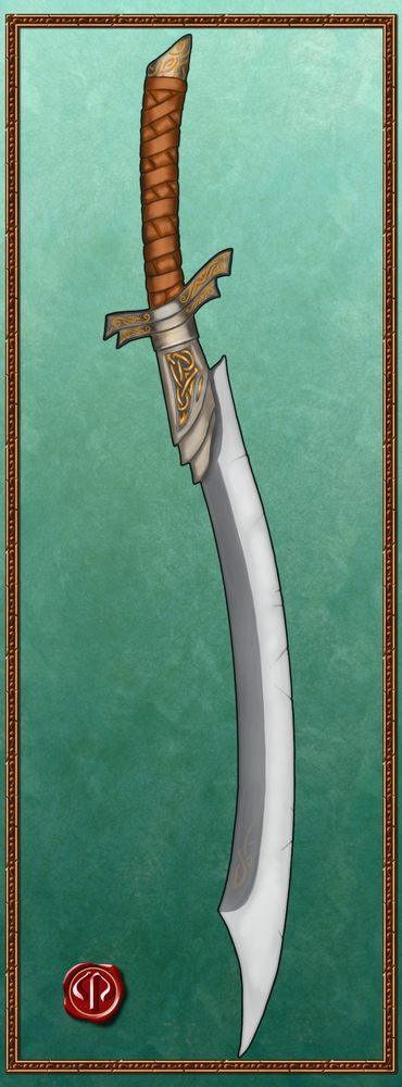 Curved Sabre. by Ulvgar