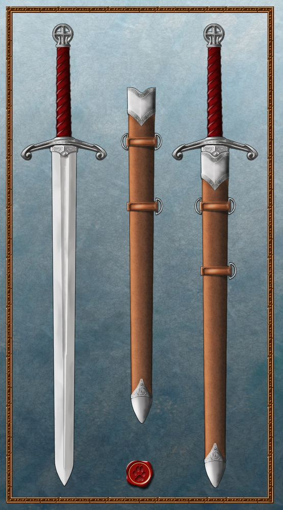 The longsword by Ulvgar