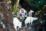 Princess of the Forest - Mononoke Hime cosplay