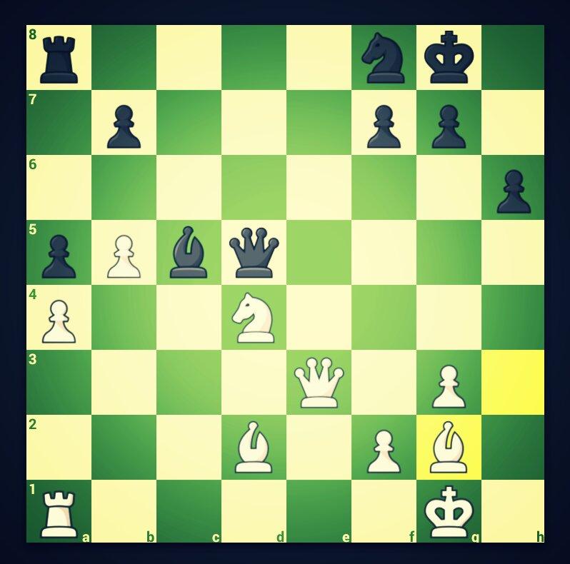 BLACK TO MOVE...WHO WILL WIN? by rjdubbya