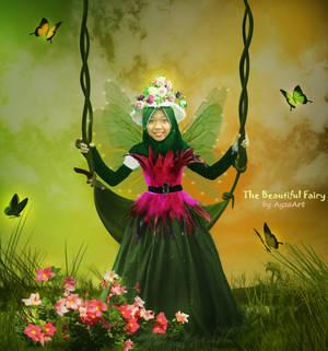 The Beautiful Fairy by AyzaArt by ayzaart
