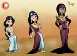 Jasmine turning into Nasira