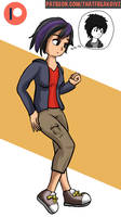 Hiro as Gogo by ThatFreakGivz