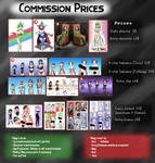 Commission Prices On Hold by ThatFreakGivz