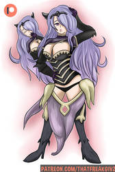Pinup: Try to look sexy Camilla (Elise)? by ThatFreakGivz
