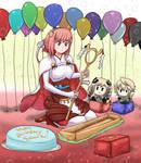 Happy Birthday Sakura! by ThatFreakGivz