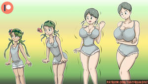Mallow Transform Into Her Mother by ThatFreakGivz