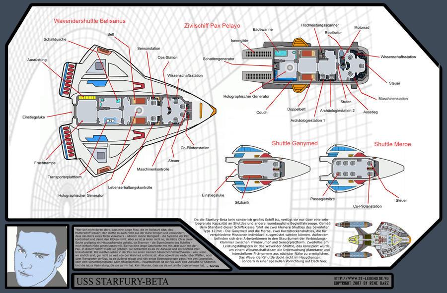 Wonderful Nova Deck Plans Shuttles By Damon1984 ...