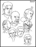 DS9 Sketches by Damon1984