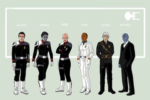 Enterprise-G Crew Part 2 by Damon1984