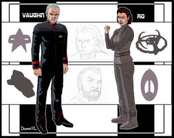 Vaughn and Ro by Damon1984