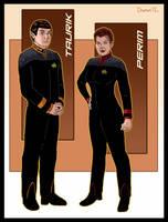Taurik and Perim by Damon1984