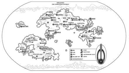 Map of Bajor by Damon1984