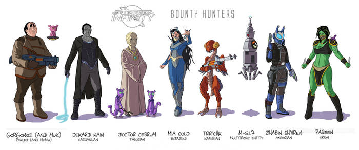Star Trek Infinity - Bounty Hunters (color) by Damon1984