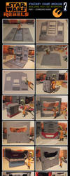 Project: Ghost Stories - Making of: Bunks by Damon1984