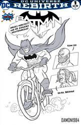 Is it a bat? Or is it a bike?