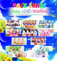 [Pack Share] Happy +245 Watchers by Mianj-Fujitani
