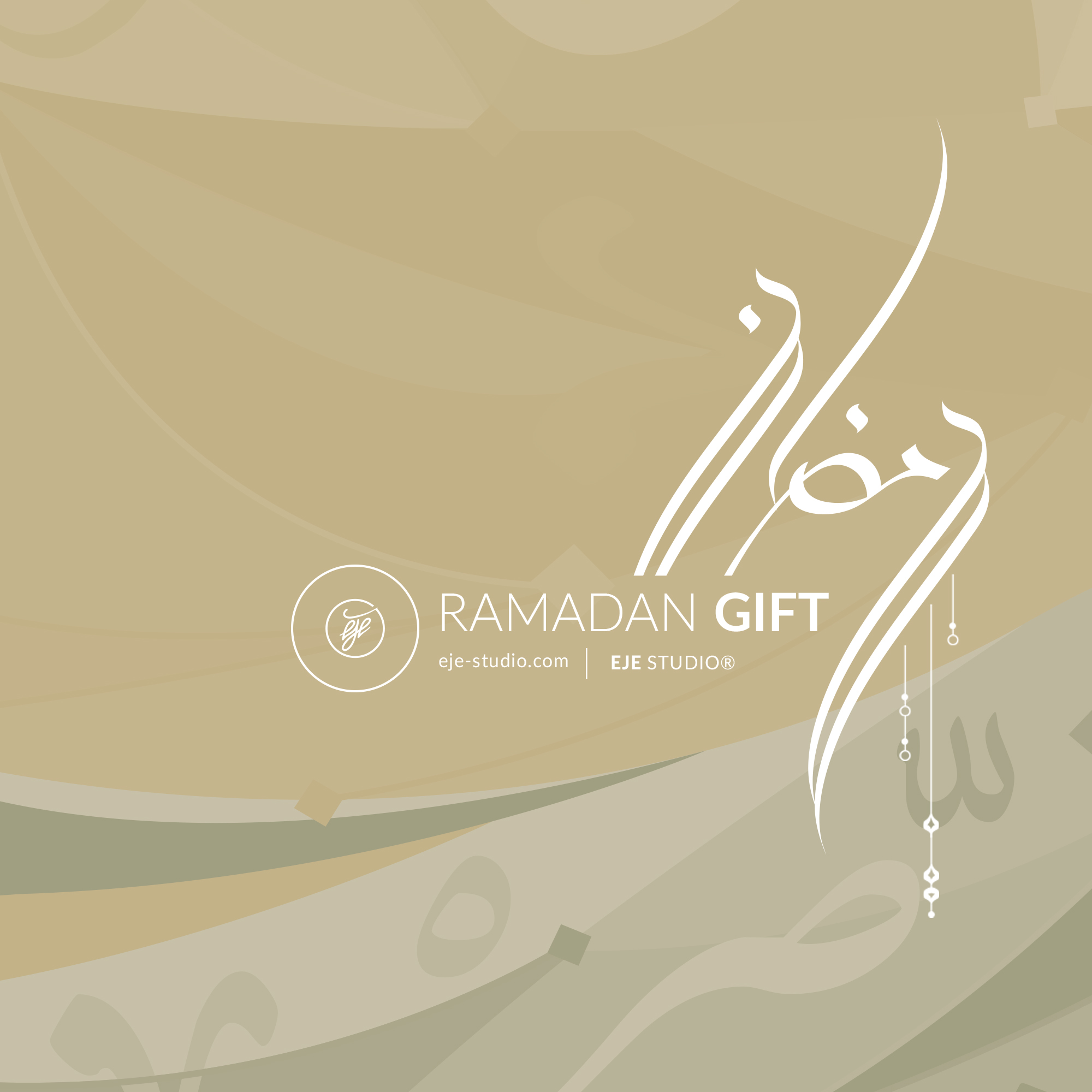 Free ramadan arabic calligraphy by eje studio one bh on