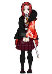 [KnY OC] Hachimaru Akemi