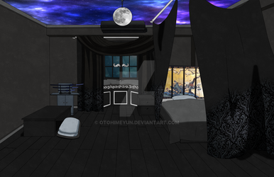 [BnHA] Hoshika's dorm room