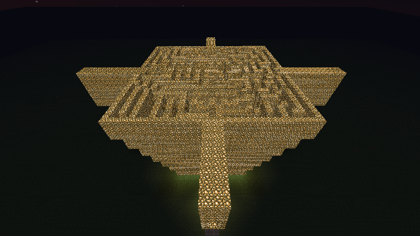 Minecraft Mazes Of Hell Building 2 Outside View By