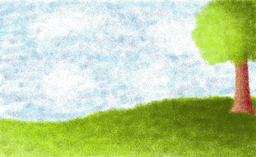 Easy Landscape By Deangray On Deviantart