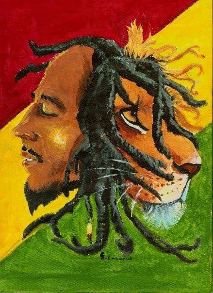 Bob Marley by Princess--Jasmine