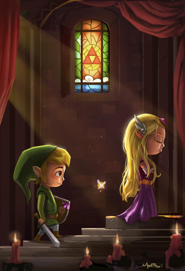 Zelda Tribute by Mark-Ito