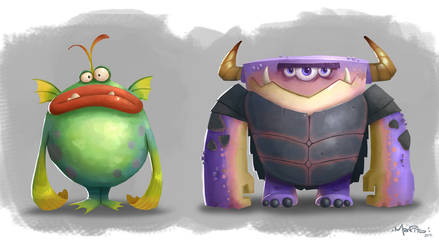 ShapeMonsters MarkHansen(small) by Mark-Ito