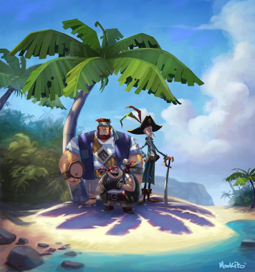 MarkHansen PirateIsland by Mark-Ito