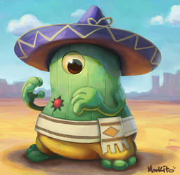 Amingo the Cactus by Mark-Ito