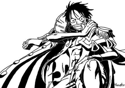 Monkey D Luffy Pirate King By Monsterwhacker On Deviantart