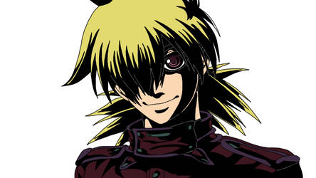 Seras Victoria colored by MonsterWhacker