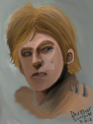 Darkhor in human form by Darkhor-Saurguse