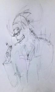 Darkhor-smoking by Darkhor-Saurguse