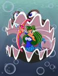 Aqua the Toon Mermaid