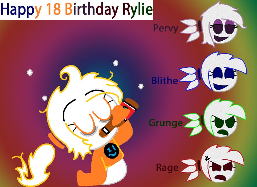 Happy Birthday Rylie by AntrB