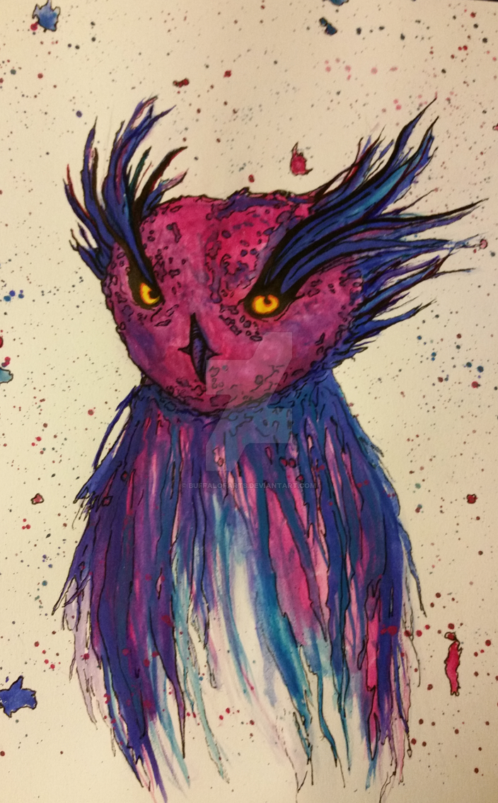 owl. by KatlynKritterz