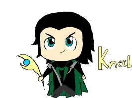 Kneel: Loki by sokkas-boomerang