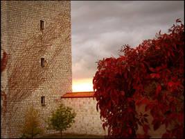Autumn Sunset by shutterlight