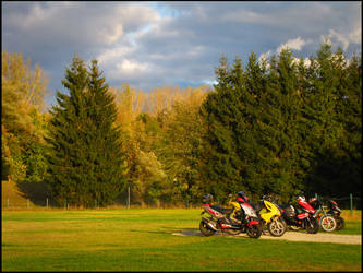 Ride Break by shutterlight